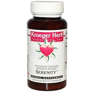 Кроегер Херб Ко, Serenity, 100 Veggie Caps отзывы