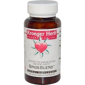 Кроегер Херб Ко, Sinus Blend, 100 Veggie Caps отзывы