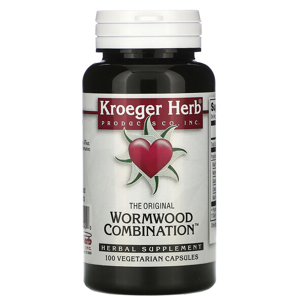 The Original Wormwood Combination, 100 Vegetarian Capsules