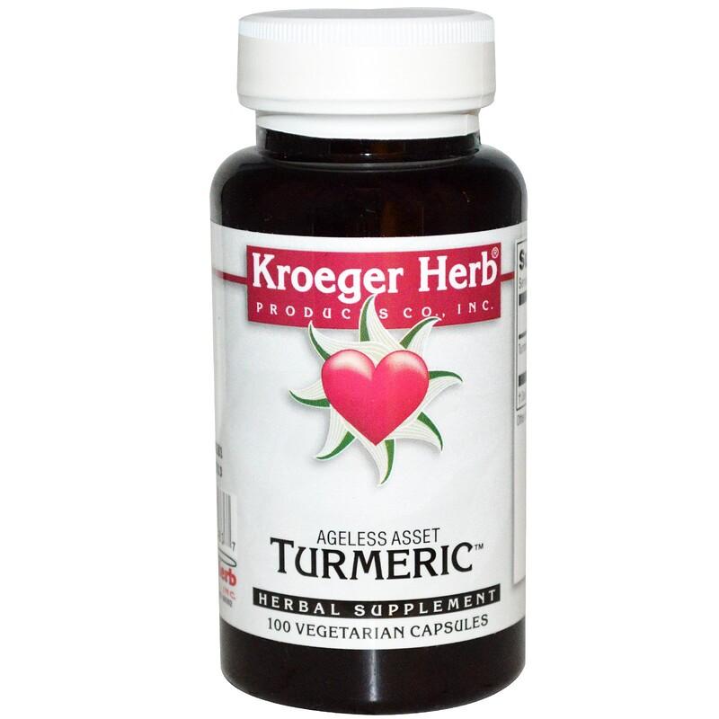Turmeric, 100 Vegetarian Capsules