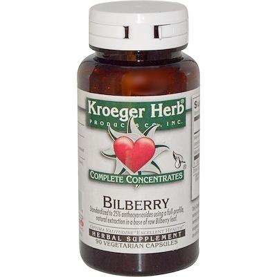 Bilberry, 90 Vegetarian Capsules недорого