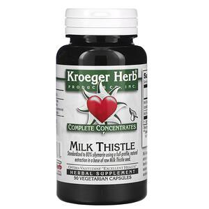 Кроегер Херб Ко, Complete Concentrates, Milk Thistle, 90 Vegetarian Capsule отзывы покупателей