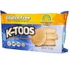 Kinnikinnick Foods, KinniToos, Vanilla Sandwich Cream Cookies, 8 oz (220 g)
