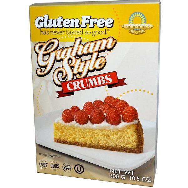 Kinnikinnick Foods, Graham Style Crumbs, 10.5 oz (300 g) (Discontinued Item)