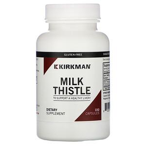 Киркман Лэбс, Milk Thistle, 100 Capsules отзывы покупателей