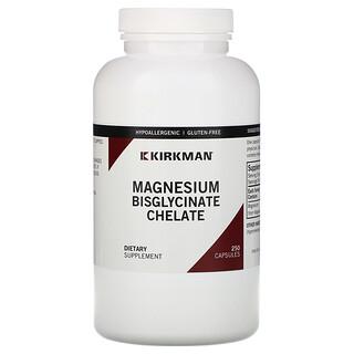 Kirkman Labs, Magnesium Bisglycinate Chelate، عبوة من 250 قرص