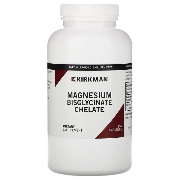 마그네슘 비스글리시네이트 킬레이트, 캡슐 250정