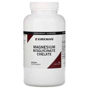 Киркман Лэбс, Magnesium Bisglycinate Chelate, 250 Capsules отзывы покупателей