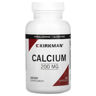 Kirkman Labs, Bio-Max Series, calcio, 200 mg, 120 cápsulas