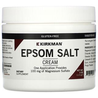 Kirkman Labs, Crema con sal de Epsom, 113g (4oz)