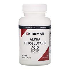 Kirkman Labs, Α 酮戊二酸,300 毫克,100 粒膠囊