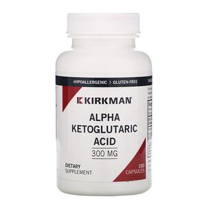 Киркман Лэбс, Alpha Ketoglutaric Acid, 300 mg, 100 Capsules отзывы покупателей