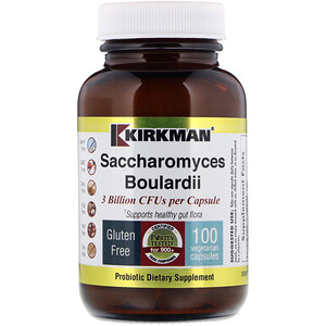 Киркман Лэбс, Saccharomyces Boulardii, 3 Billions, 100 Vegetarian Capsules отзывы покупателей