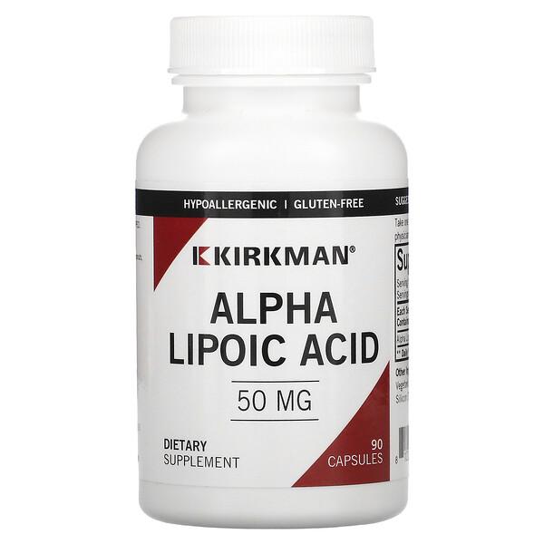알파리포산, 50 mg, 90 캡슐