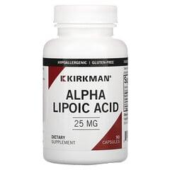 Kirkman Labs, α 硫辛酸,25 毫克,90 粒膠囊