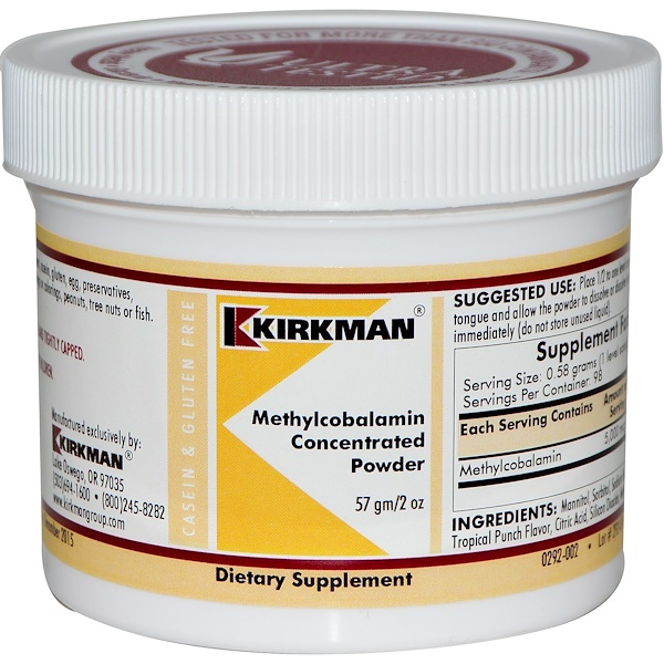 Methylcobalamin Concentrated Powder, 2 oz (57 g)