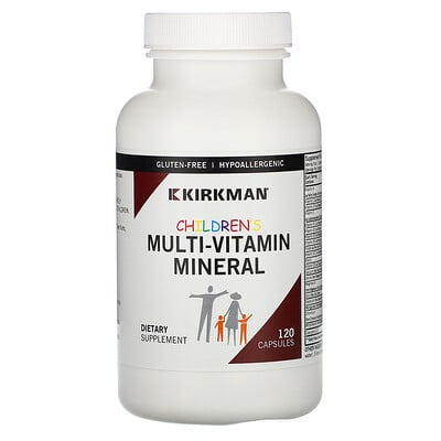 Kirkman Labs Children's Multi-Vitamin Mineral, 120 Capsules  - Купить