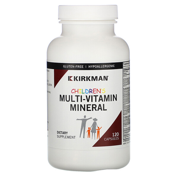Children's Multi-Vitamin Mineral, 120 Capsules