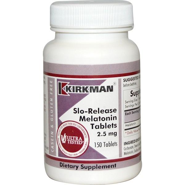 Melatonina de Liberación Lenta, 150 Tabletas