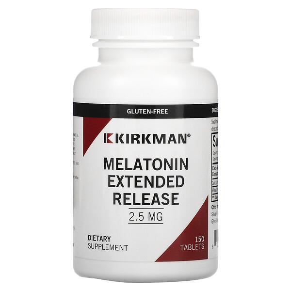 Melatonin Extended Release, 2.5 mg, 150 Tablets