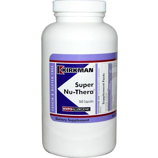 Kirkman Labs, Super Nu-Thera, 360 Capsules
