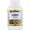 Kirkman Labs, GABA, 250 mg, 150 Vegetarian Capsules