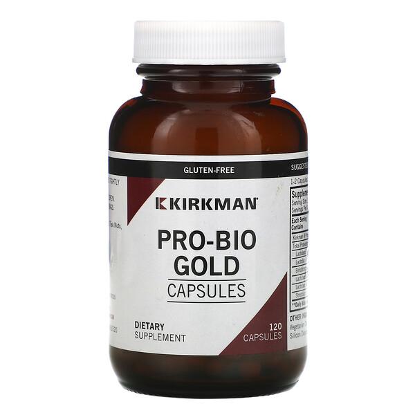 Kirkman Labs, Pro-Bio Gold Capsules, 120 Capsules (Ice)