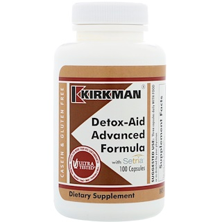 Kirkman Labs, Detox-Aid Advanced Formula, 100 Capsules