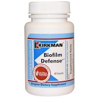 Kirkman Labs, Biofilm Defense, 60 капсул