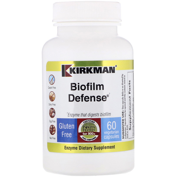 Kirkman Labs, Biofilm Defense, 60 Vegetarian Capsules (Discontinued Item)