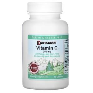 Киркман Лэбс, Vitamin C, 250 mg, 90 Capsules отзывы