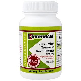 Kirkman Labs, Curcumin/Turmeric Root Extract, 275 mg, 60 Capsules