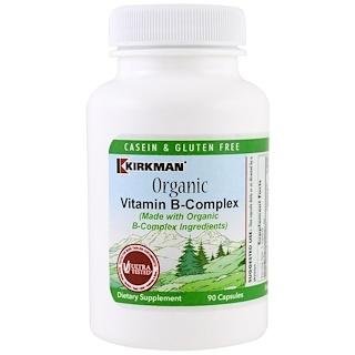 Kirkman Labs, Organic Vitamin B-Complex, 90 Capsules