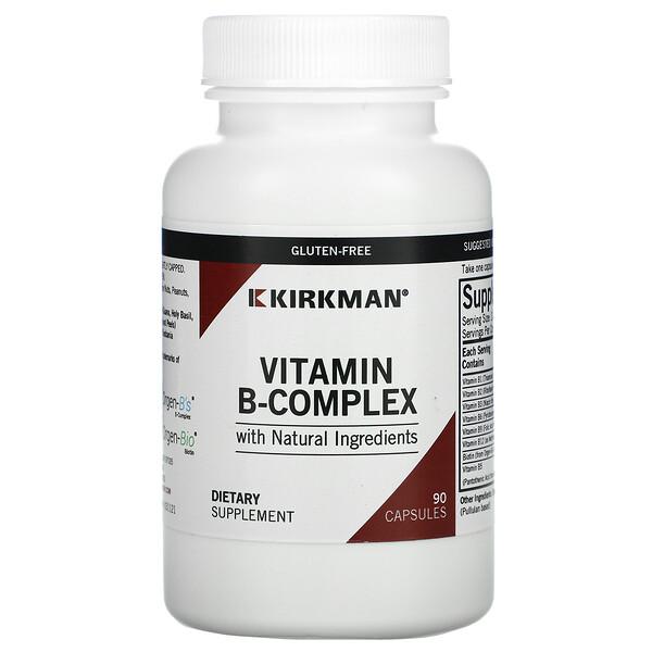 Kirkman Labs, 維生素 B 複合物,90 粒膠囊