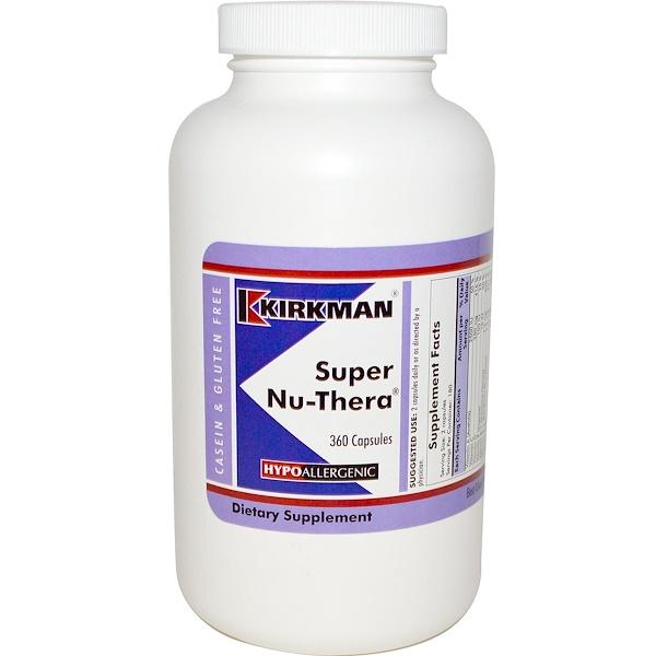 Kirkman Labs, Super Nu- Тера 360 капсул (Discontinued Item)