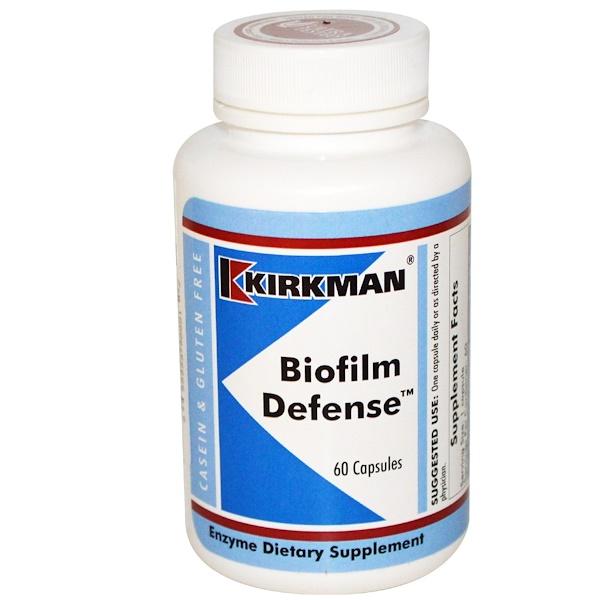 Kirkman Labs, Биопленочная защита, 60 капсул (Discontinued Item)