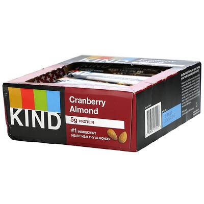 Купить KIND Bars Kind BARS, Cranberry Almond, 12 Bars, 1.4 oz (40 g) Each