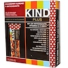KIND Bars, Kind Plus, Cranberry Almond + Antioxidants  Bars, 12 Bars, 1.4 oz (40 g) Each