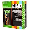 KIND Bars, Kind Plus, Fruit & Nut Bars, Almond Cashew with Flax + Omega-3, 12 Bars, 1.4 oz (40 g) Each (Discontinued Item)