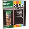 KIND Bars, Fruit & Nut, Apple Cinnamon & Pecan, 12 Bars, 1.4 oz (40 g) Each