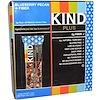KIND Bars, Plus, Blueberry Pecan + Fiber, 12 Bars, 1.4 oz (40 g) Each