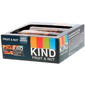 Кинд Барс, Fruit & Nut Bar, 12 Bars, 1.4 oz (40 g) Each отзывы