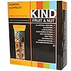 KIND Bars, Fruit & Nut Bars, Almond & Apricot, 12 Bars, 1.4 oz (40 g) Each
