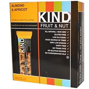 Кинд Барс, Fruit & Nut Bars, Almond & Apricot, 12 Bars, 1.4 oz (40 g) Each отзывы