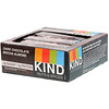 KIND Bars, Nueces y Especias, Chocolate Oscuro con Moca y Almendras, 12 Barras, 1.4 oz (40 g) c/u