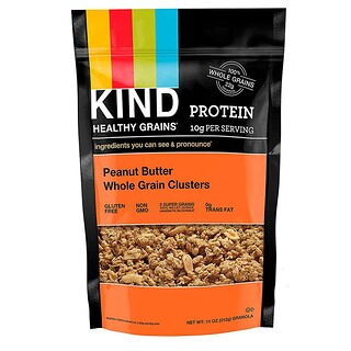 KIND Bars, Healthy Grains, Peanut Butter Whole Grain Clusters, 11 oz (312 g)