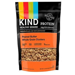 Кинд Барс, Healthy Grains, Peanut Butter Whole Grain Clusters, 11 oz (312 g) отзывы покупателей