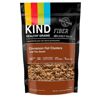 KIND Bars, Healthy Grains, Cinnamon Oat Clusters with Flax Seeds, 11 oz (312 g)
