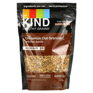 KIND Bars, Healthy Grains, Cinnamon Oat Granola with Flax Seeds, 11 oz (312 g)