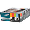 KIND Bars, Frutos secos y especias, chocolate negro, frutos secos y sal marina, 12 barras, 1,4 onzas (40 g) cada una